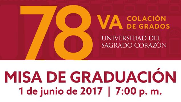 Misa de Graduación USC 2017